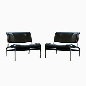 Lounge Chairs by Olivier Mourgue for Airborne, 1960s, Set of 2