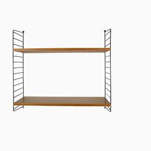 Swedish Wall Ladder Shelf by Nils Nisse Strinning for String Design AB, 1960s