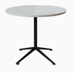 Dutch Round Dining Table by Friso Kramer for Ahrend De Cirkel, 1960s
