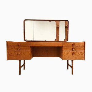 Teak Dressing Table with Mirror from Meredew, 1960s