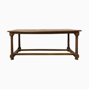 Late-18th Century French Oak Refectory Table