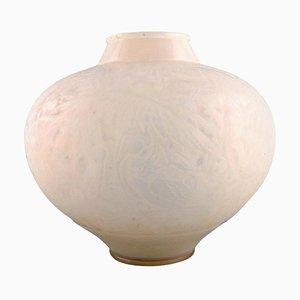 Grand Vase Aras Modèle 919 en Verre Opalin par René Lalique, 1920s