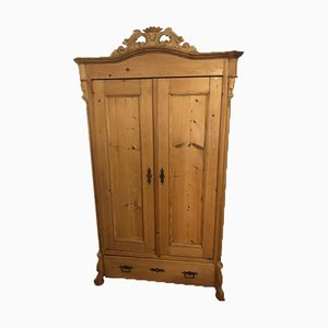 Antique Wood Closet