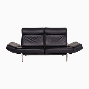 Black Leather DS 450 2-Seat Relax Function Sofa by Thomas Althaus for de Sede