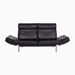 Schwarzes Leder DS 450 2-Sitz Relax Function Sofa von Thomas Althaus für de Sede