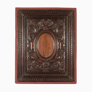 17th Century Italian Baroque Wood Panel