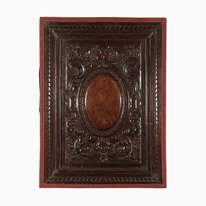 17th Century Italian Baroque Wood Panel
