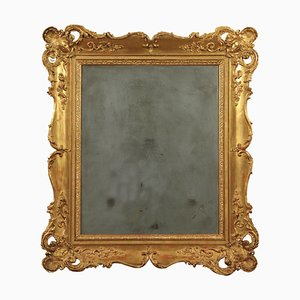 19th Century Italian Eclectic Mercury Wall Mirror