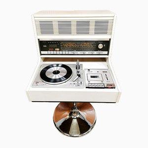 Equipo de música Commander Space Age de Theo Schmitz para Rosita, años 70
