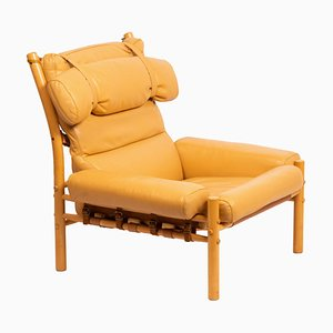 Inca Lounge Chair by Arne Norell, 1960s