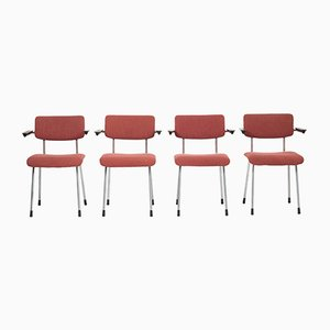 Model 1235 Armchairs by André Cordemeyer for Gispen, 1950s, Set of 4