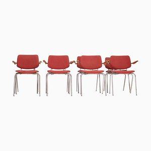 Modell 305 Stühle von Kho Liang Le für CAR Katwijk, 1970er, 8er Set
