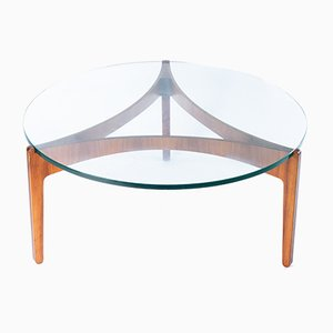 Rosewood Coffee Table by Sven Ellekaer, 1960s