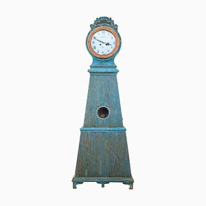 19th Century Swedish Decorative Mora Longcase Clock