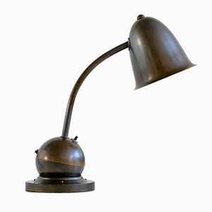 Art Deco Table Lamp with Bell Shade by Willem Hendrik Gispen for KMD Daalderop, 1930s