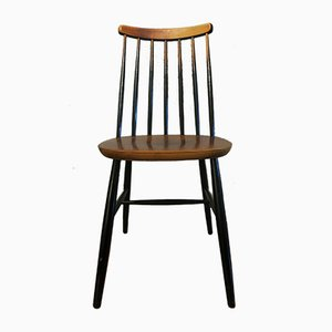 Mid-Century Ebonized Dining Chairs from Ercol, Set of 4