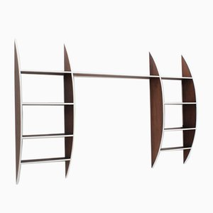 Mid-Century Italian Wooden Shelf, 1950s