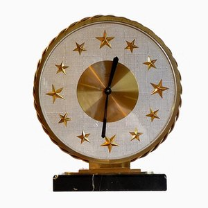 Vintage Art Deco French Pendulum Clock from Bayard