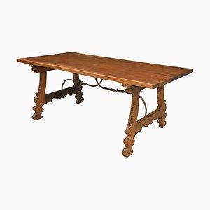 17th Century Spanish Walnut Dining Table