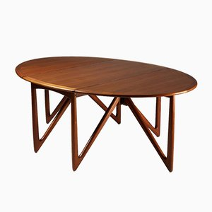Danish Dining Table by Kurt Østervig, 1950s