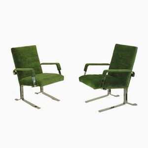 Vintage German Armchairs by Rudolf Horn for Röhl Potsdam, 1970s, Set of 2