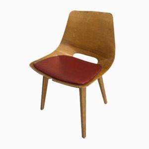 Tonneau Stuhl von Pierre Guariche für Steiner, 1950er