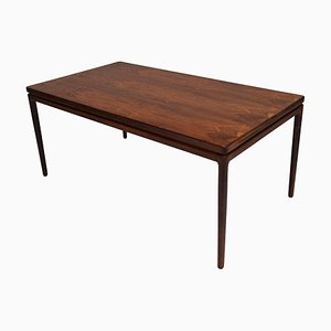 Danish Rosewood Dining Table by Johannes Andersen for Christian Linneberg, 1960s
