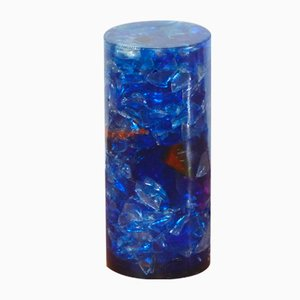 Vintage Resin Table Lamp in the Style of Giraudon