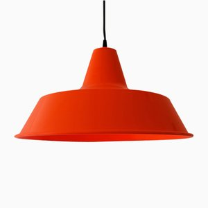 Vintage Lacquered Metal Pendant Lamp from Louis Poulsen, 1980s