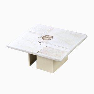 Tavolino da caffè in pietra naturale di Paul Kingma per Kingma, 2001