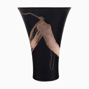 Vase in Glazed Ceramic, 1980s