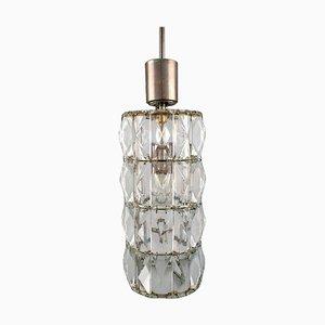 Cylindrical Pendant Lamp from Kaiser Leuchten, Germany, 1960s