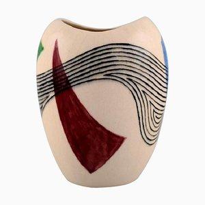 Vaso in ceramica smaltata, 1957