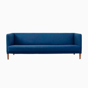 Blue Sofa by Hans J. Wegner for Johannes Hansen, 1960s