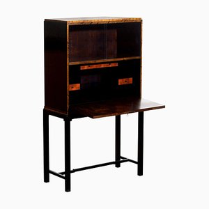Art Deco Secretaire Highboy by Axel Einar Hjorth for Nordiska Kompaniet, 1924