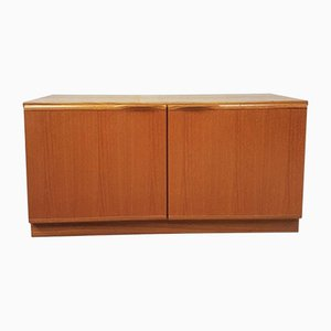 Mid-Century Teak Compact Sideboard from McIntosh