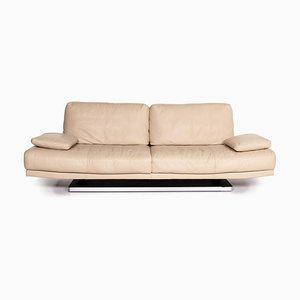 Beiges 6500 3-Sitzer Ledersofa von Kein Designer für Rolf Benz