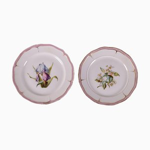 19th Century Porcelain Plates from CH. Pillivuyt & Cie, Paris, Set of 2