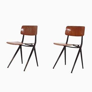Chaise d'Ecole Industrielle par Ynske Kooistra pour Marko, Pays-Bas, 1960s