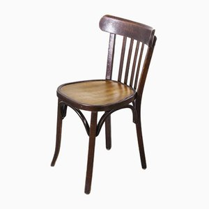 Bentwood Tonal Bistro Dining Chairs from Baumann, 1950s, Set of 6