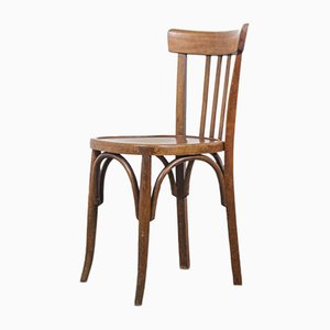 Bentwood Model 3 Bistro Dining Chairs from Baumann, 1950s, Set of 8