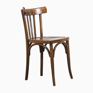 Bentwood Model 4 Bistro Dining Chairs from Baumann, 1950s, Set of 6