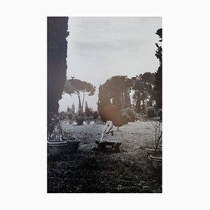 In a Garden Near Rome by Helmut Newton, 1977