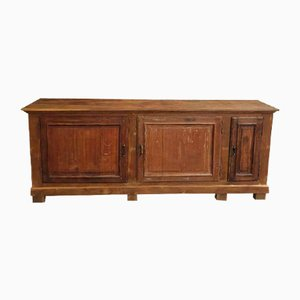 Antique Oak Shop Counter