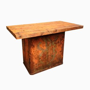 Antique Bar Table Shop Counter