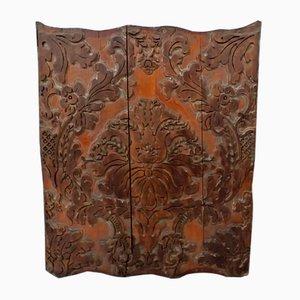 Antique Decorative Wooden Panel Matrix for Fabrics