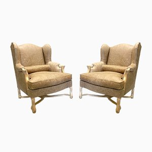 Mid-Century Leather Armchairs, 1960s, Set of 2