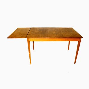 Swedish Wooden Dining Table, 1950s