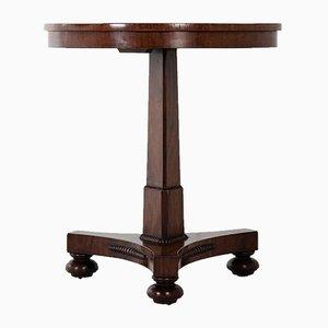 19th Century English Regency Mahogany Lamp Table