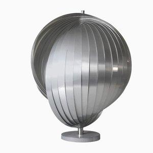 Grande Lampe de Bureau Moon par Henri Mathieu, 1970s